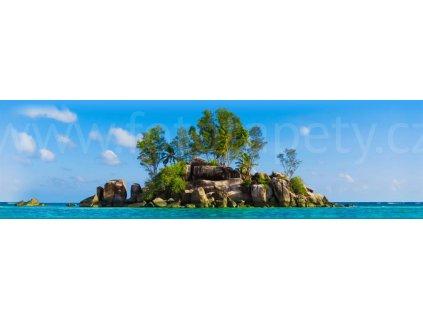 Samolepící bordura - Ostrov, 14cm x 5m,  WB 8203