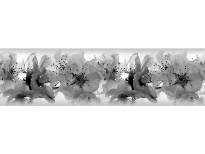 Samolepící bordura - Květy třešně, 14cm x 5m,  WB 8208
