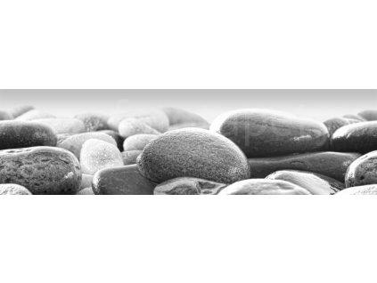 Samolepící bordura - Oblázky, 14cm x 5m,  WB 8215