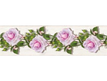 Samolepící bordura - Růže, 14cm x 5m,  WB 8229, skl.