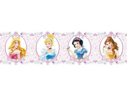 Dětská samolepící bordura - Princezny, 14cm x 5m,  WBD 8065
