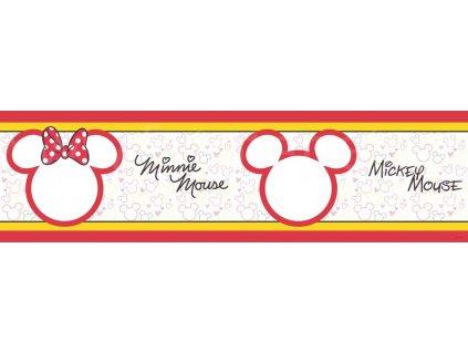 Dětská samolepící bordura - Minnie Mouse, 14cm x 5m,  WBD 8068