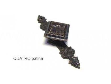 kovový knopek QUATRO