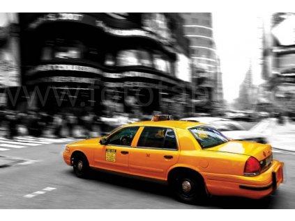 Pětidílná vliesová fototapeta Taxi, rozměr 375x250cm, MS-5-0007