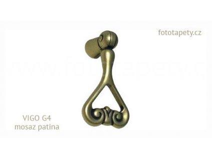 kovový knopek VIGO G4 sklopný
