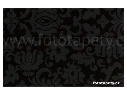 Samolepící fólie Decor, Classic ornament- black