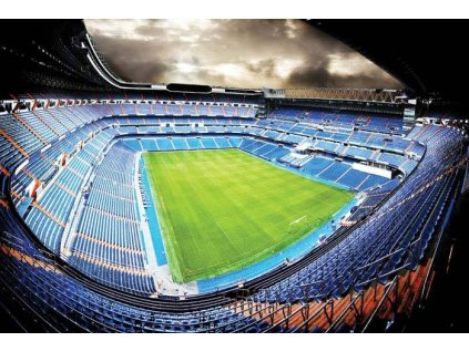 Pětidílná vliesová fototapeta Fotbalový stadion, rozměr 375x250cm, MS-5-0307