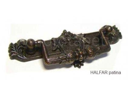 kovová úchytka HALFAR 72 sklopná