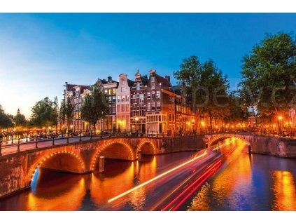 Pětidílná vliesová fototapeta Amsterdam, rozměr 375x250cm, MS-5-0023
