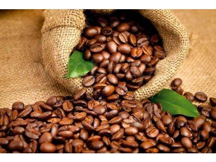 Pětidílná vliesová fototapeta Kávová zrna, rozměr 375x250cm, MS-5-0244