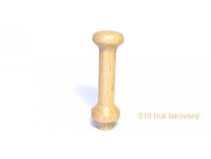 Dřevěný věšákový kolík 019