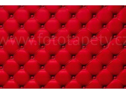 Pětidílná vliesová fototapeta Červený potah, rozměr 375x250cm, MS-5-0270