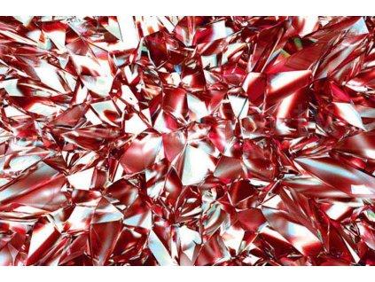Pětidílná vliesová fototapeta Červený krystal, rozměr 375x250cm, MS-5-0281