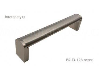 Kovová úchytka BRITA 128, 160, 192, 224, 320, 432, 544