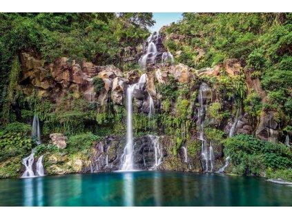 Čtyřdílná vliesová fototapeta Vodopády, 368x248cm, XXL4-026