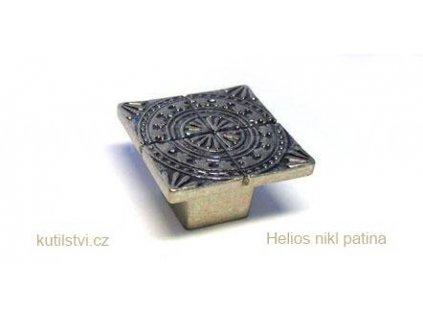kovový knopek HELIOS