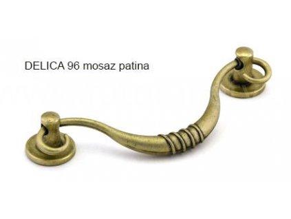 kovová úchytka DELICA 96 sklopná