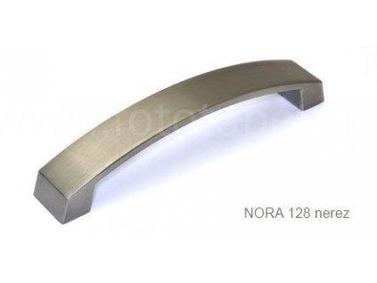 kovová úchytka NORA 128,160,192,256, 320 nerez