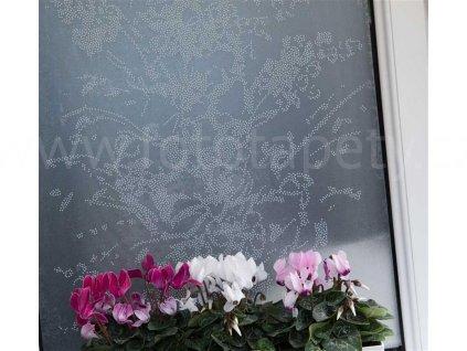 Transparentní folie na sklo 1-2-3 static Premium - Arcos - doprodej