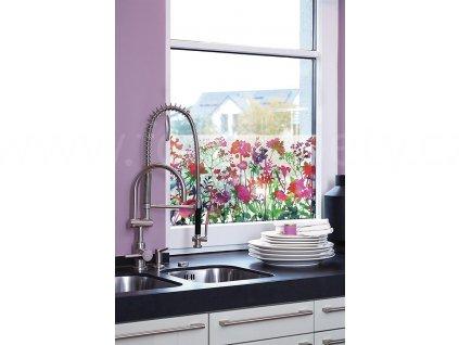 Transparentní folie na sklo 1-2-3 static Premium - Miraflores