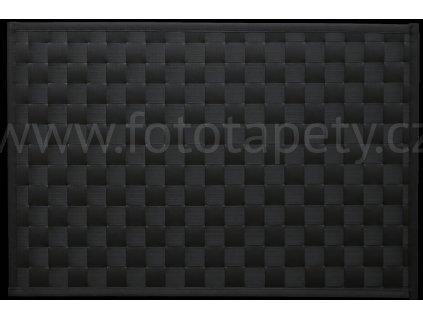 Prostírání na stůl - Lýko antracit, 43x30cm