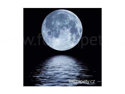 Samolepící malířské plátno - Měsíční svit, 100x100cm