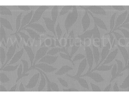 Prostírání na stůl - Listy šedá perleť, 45x30cm