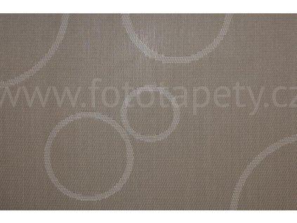 Prostírání na stůl - Hnědé kruhy, 45x30cm, 230-5210