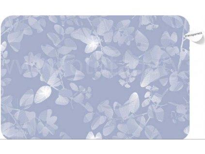 Prostírání na stůl - Listy, 44x29cm, skl