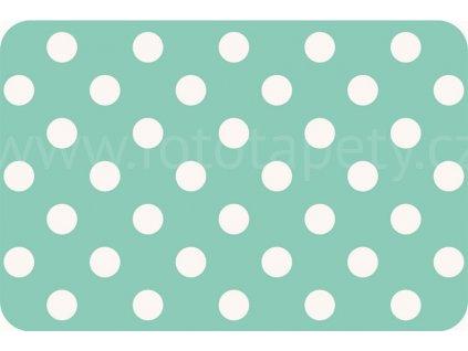 Prostírání na stůl - Peprmintové puntíky, 44x29cm