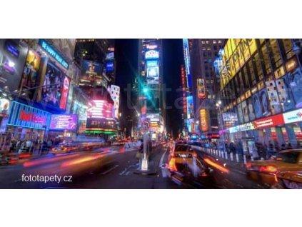Samolepící velkoplošná nálepka - Život velkoměsta, 180x100cm