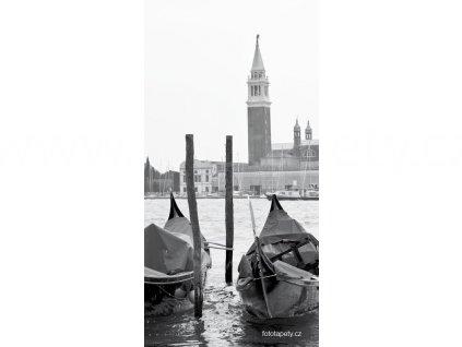 Samolepící velkoplošná nálepka - Benátky, 100x180cm