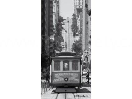 Samolepící velkoplošná nálepka - San Francisco, 100x180cm