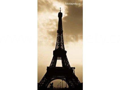 Samolepící velkoplošná nálepka - Paříž, 100x180cm