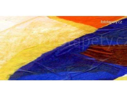 Samolepící malířské plátno - Geometrické tvary, 180x100cm
