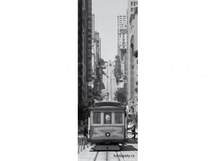 Samolepící velkoplošná nálepka - San Francisco, 100x270cm