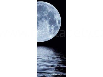 Samolepící velkoplošná nálepka - Měsíční svit, 100x270cm