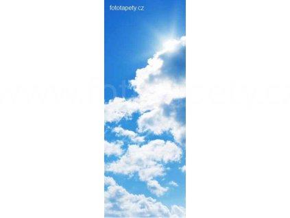 Samolepící velkoplošná nálepka - Obloha, 100x270cm