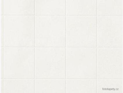 Dekorační obklad stěny - Bílé kachličky