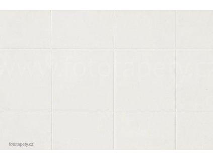 Dekorační obklad stěny - Bílé kachličky velké