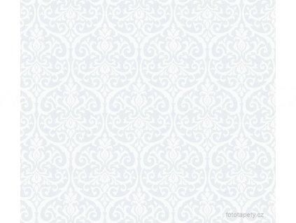 Transparentní samolepící folie šíře 45cm, vzor Alba