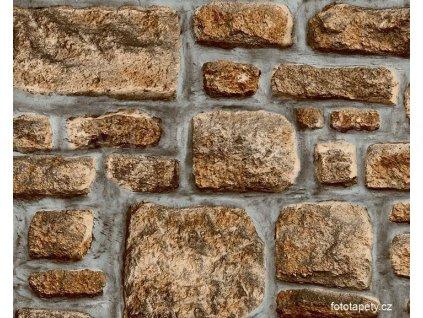 Samolepící folie  imitace přírodního materiálu, Kamenná zeď III