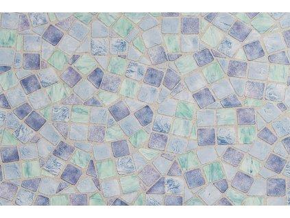 Samolepící folie d-c-fix, vzor Modrá mozaika