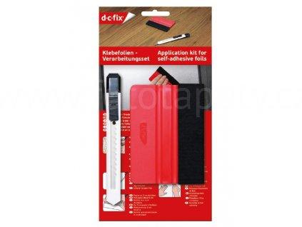 Sada nářadí d-c-fix určená k aplikaci fólií - stěrka a nožík