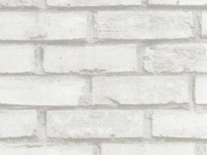 Samolepící fólie imitace přírodního materiálu - Bílá cihla
