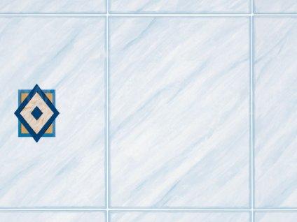 Samolepící fólie imitace přírodního materiálu - Modré kachličky