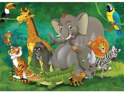 dětská tapeta zoo