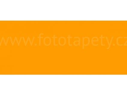 Samolepící tapeta jednobarevná fluorescenční, oranžová
