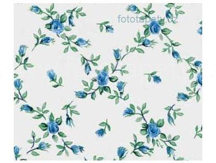 Samolepící fólie Decor, vzor Modré růže