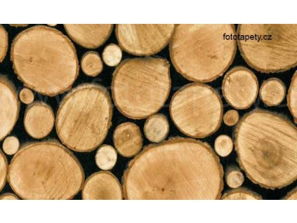 Samolepící folie - Polena - imitace přírodního materiálu